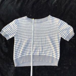 Brandy Melville stripped sweater t shirt🤍